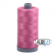 Aurifil 28 Cotton Thread - 2452 (Pink)